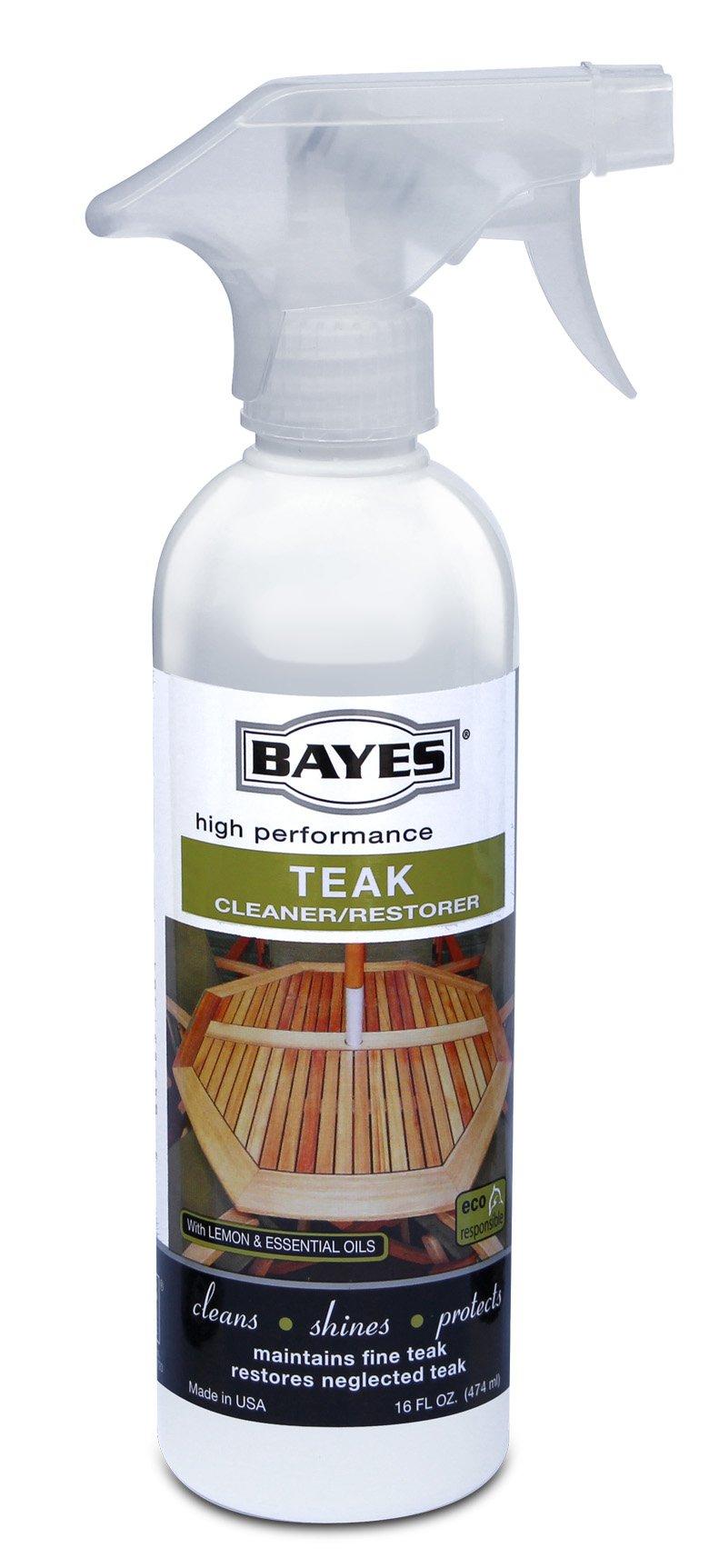 Bayes Teak Cleaner & Restorer-16 oz