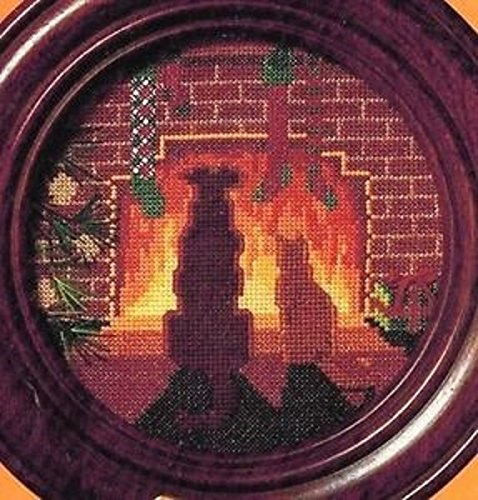 1984 Collectors - The Creative Circle Collectors Plate 1984 Counted Cross Stitch Kit-6107
