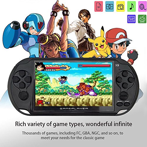 RONSHIN Handheld Portable Retro Game Console Video MP3 Player Camera Kids by RONSHIN (Image #7)