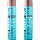 Sexy Hair Healthy Sexy Hair Color Safe Sulfate Free Soy Moisturizing Shampoo & Conditioner, 33.8 Oz Each