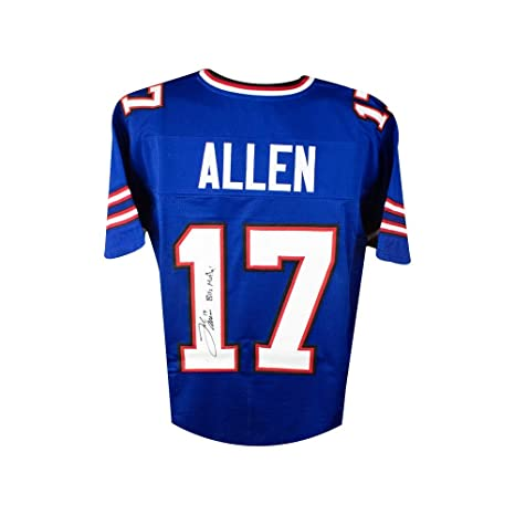 Image Unavailable. Image not available for. Color  Josh Allen Bills Mafia Autographed  Buffalo Bills Custom Football Jersey JSA COA f73f8a7d5