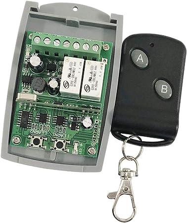 Maison Porte Garage Portail Télécommande Interrupteur Relais Récepteur Tools Kit