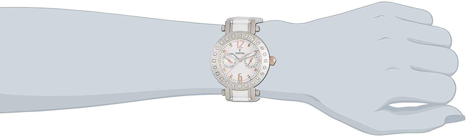 Amazon.com: FESTINA Womens Watch Ceramic and Steel Brand F16587/2: Festina: Watches