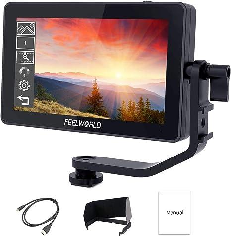 Feelworld S55 5.5 Zoll DSLR Kamera Field Monitor Small Full HD ...