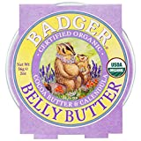 Cheap Badger Organic Pregnant Belly Butter – Cocoa Butter & Calendula – 2 oz., Pack of 3