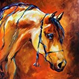 Imagekind Wall Art Print entitled SHOWTIME ARABIAN by Marcia Baldwin | 16 x 16