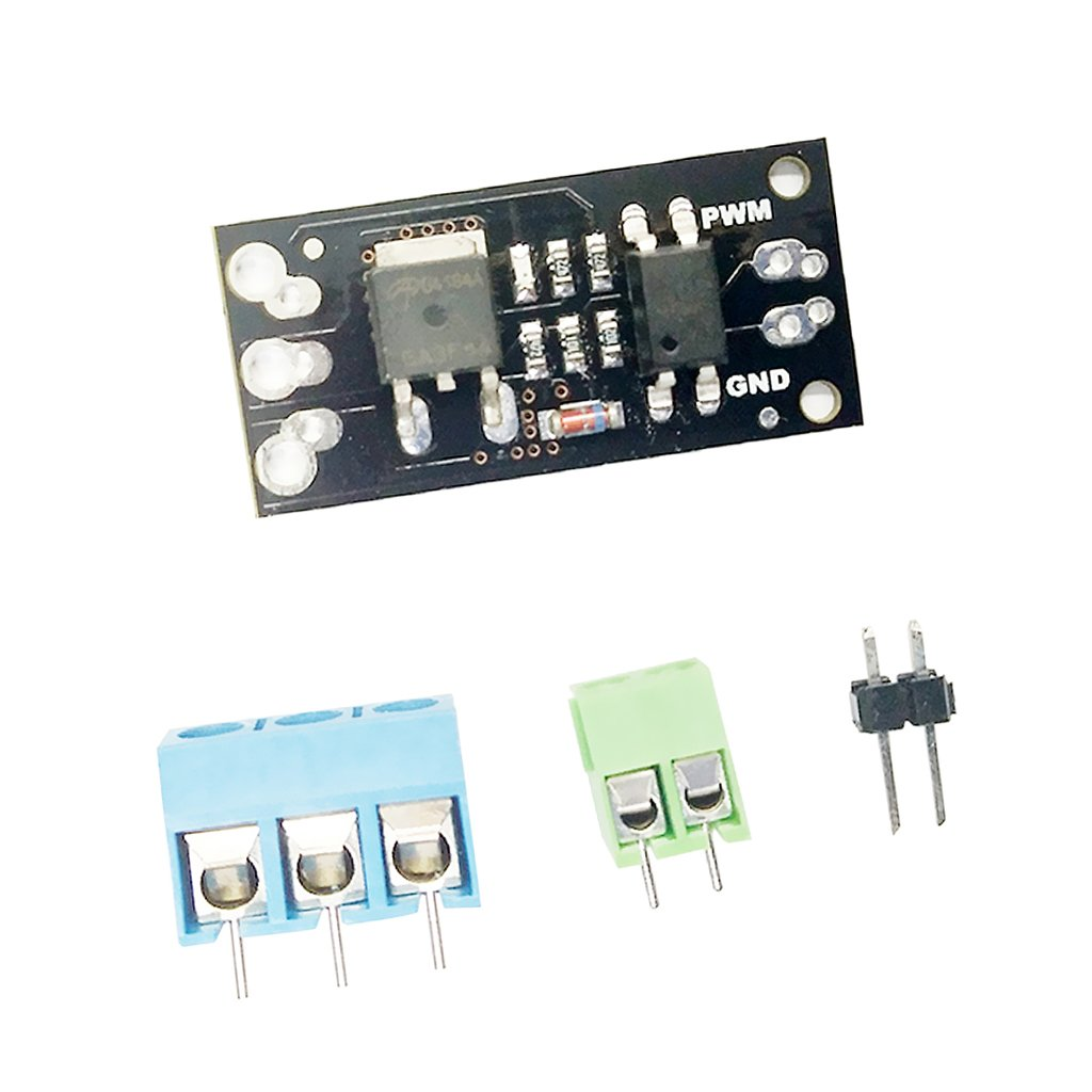 MagiDeal Field Effect Module Motor Driver FR120N MOS With Terminal Pins For Arduino