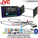 JVC KW-R930BTS Double Din Radio Install Kit with Bluetooth USB AUX Fits 2003-2011 Crown Victoria, 2005-2007 Escape