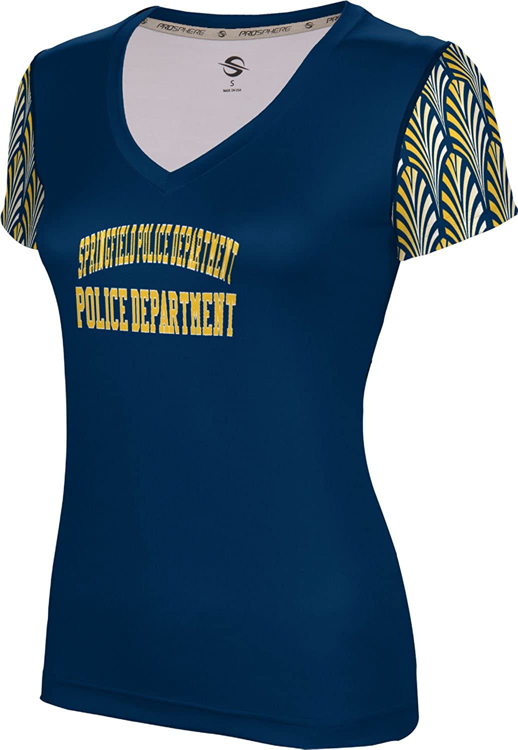 ProSphere Women's Springfield Police Department Deco SL V-Neck Training Tee