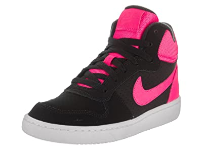 34981472032 Nike Kids Court Borough Mid (GS) Black Pink Blast Basketball Shoe 7 Kids  US  Buy Online at Low Prices in India - Amazon.in