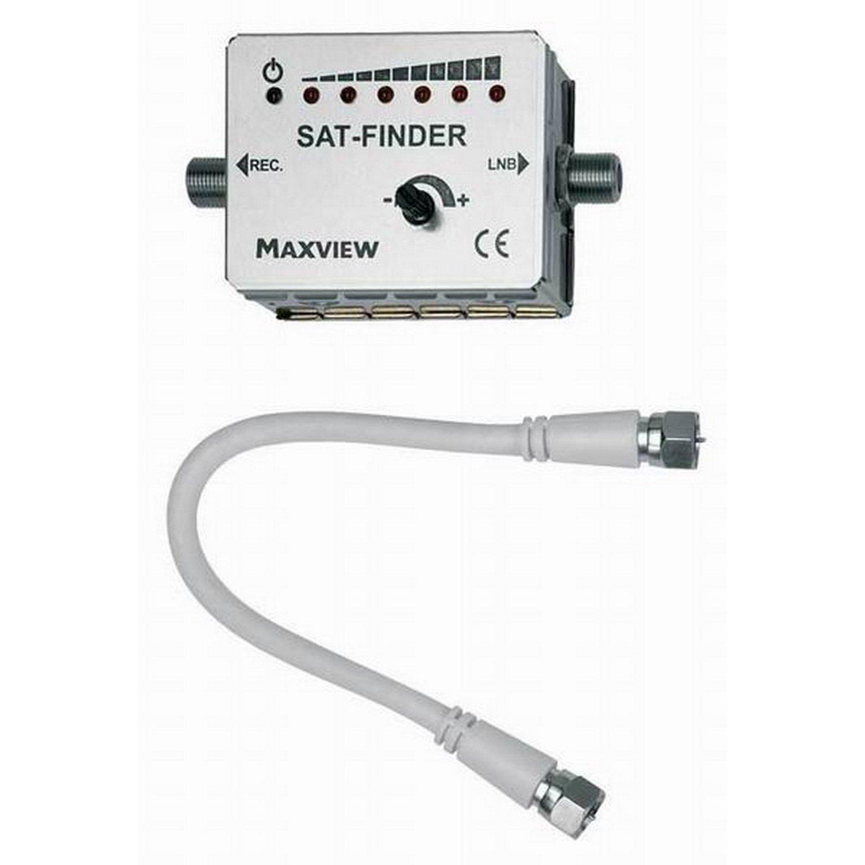 Maxview Omnistat Digital Satellite Sat-Finder (One Size) (White)