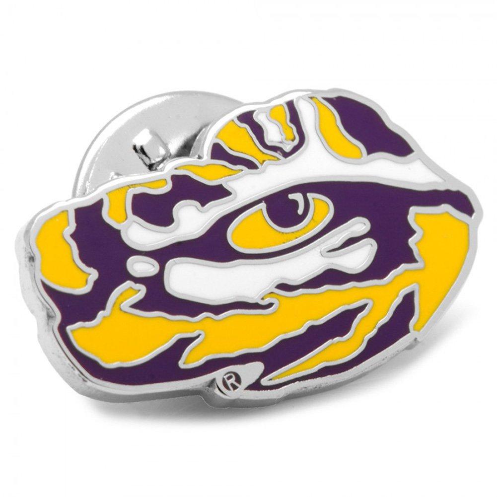 LSU Tiger's Eye Lapel Pin