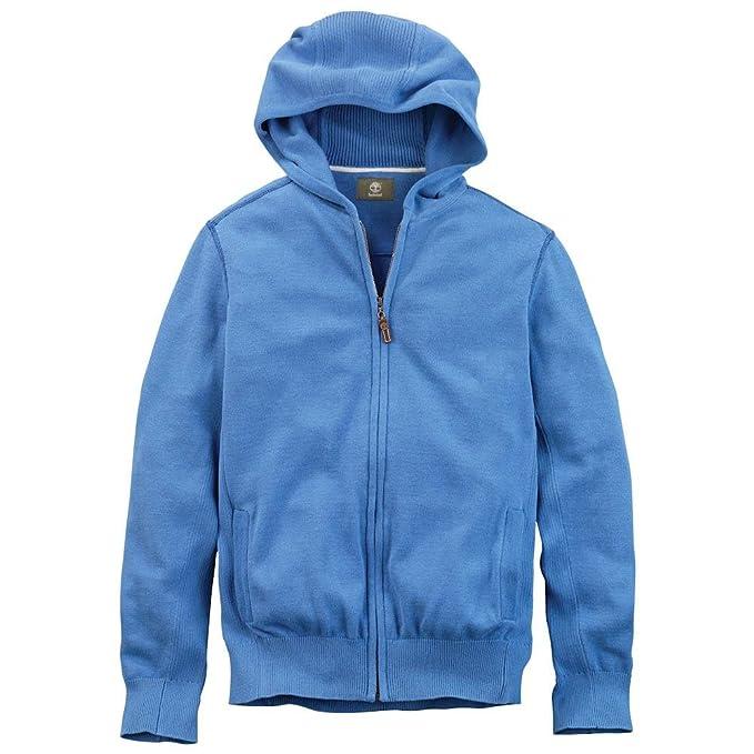 Timberland SUDADERAS chaqueta para hombre WILLIAMS RIVER (Medium, Azul)