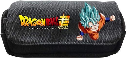 Maneray Pencil Case Dragon Ball Super Z Cosplay Bolsas de Papelería Estuche para lápices Estudiantes Plumier Caso Stationery Pluma Bag: Amazon.es: Iluminación