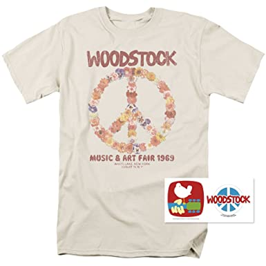 Amazon Popfunk Woodstock Peace Symbol T Shirts Exclusive