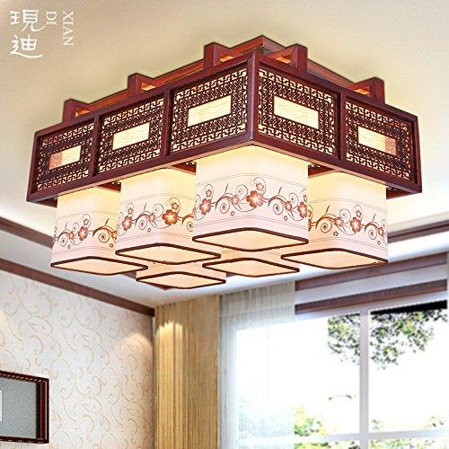 BLYC- 6 neuen klassischen chinesischen Dach Schlafzimmer Esszimmer Kronleuchter Wohnzimmer Lampen leuchten led Lampen Leder Lampen Hotel restaurant