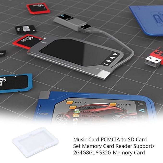 Adaptador de Tarjeta Lector de Tarjetas PCMCIA para Mercedes ...