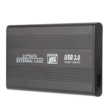 KKmoon - Caja externa de alta velocidad con USB 3.0 para disco ...
