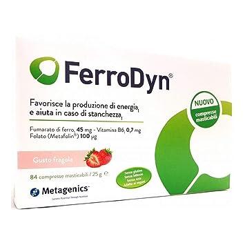 Amazon.com: Ferrodyn 84cps Masticabili: Health & Personal Care