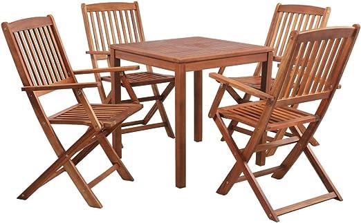 Sillas y mesas de jardin