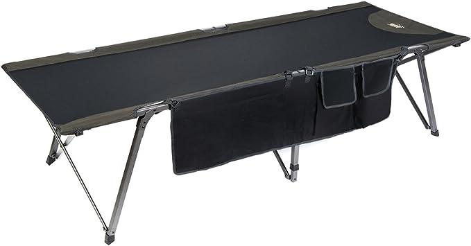 Timber Ridge XL Portable Camping Cot with Carry Bag