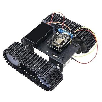 SM SunniMix Modelo Chasis Robot Coche Arduin0 con Orugas + ...