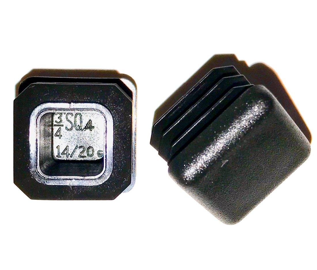 2 X 3 Rectangle TUBING END Cap Plug SBD Ltd