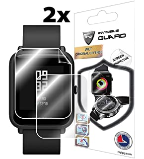 for XIAOMI HUAMI AMAZFIT BIP (2X) Smartwatch Screen Protector Invisible Ultra HD Clear Film