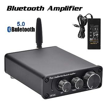 Bluetooth 5.0 Amplificador de audio estéreo Receptor 2 ...