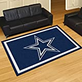 FANMATS NFL Dallas Cowboys Nylon Face 5X8 Plush Rug
