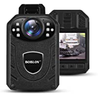 BOBLOV 1296P Body Wearable Camera Support Memory Expand Max 128G Lightweight and Portable Easy to Operate KJ21(Card not…