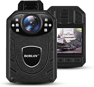 BOBLOV 1296P Body Wearable Camera Support Memory Expand Max 128G Lightweight and Portable Easy to Operate KJ21(Card not Included) (Camera only)