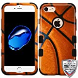 MyBat Cell Phone Case for iPhone 7 - Basketball-Sports Collection/Black