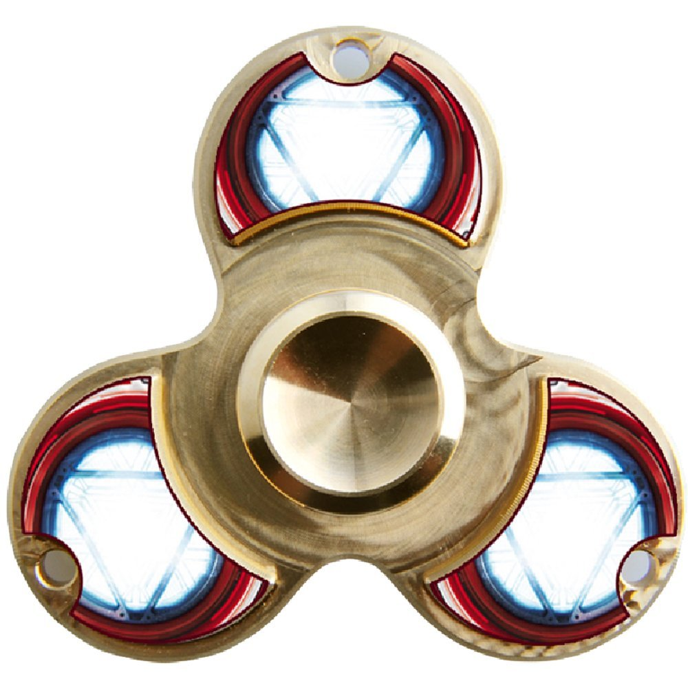 WENSE Fidget Spinner Toy Ultra Durable Pure copper Bearing High Speed 6-14 Min Spins Precision Metal Hand Spinner EDC ADHD Focus Anxiety Stress Relief Boredom Killing Time Toys