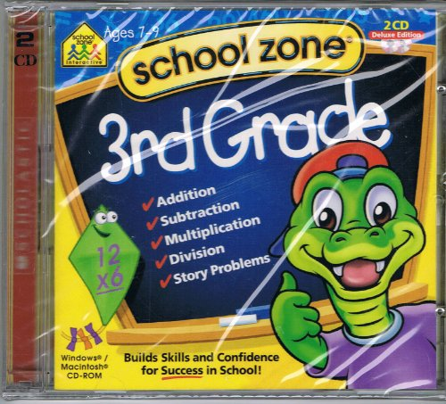 3rd Grade By School Zone Ages 7-9