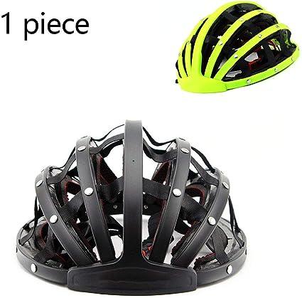 KELEQI Casco De Bicicleta, Casco Portátil, Casco De Bicicleta De ...