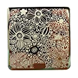 Nicole Diary Full Flower Patterns Nail Art Stamp Template Image Plate