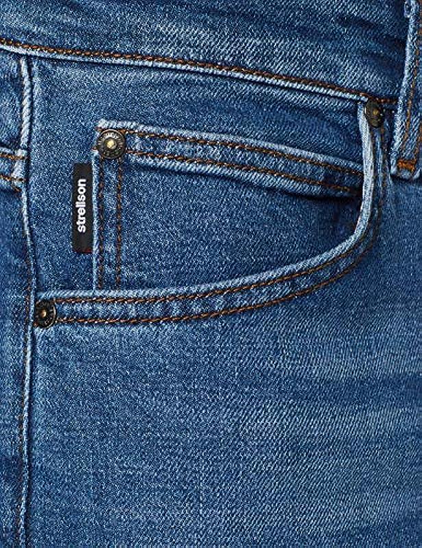 Strellson Root Straight dżinsy męskie - prosty 32W / 32L: Odzież