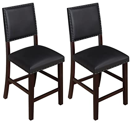 Amazon Com Angel Line 41415 49 24 Kirkland Bar Stools Set Of 2