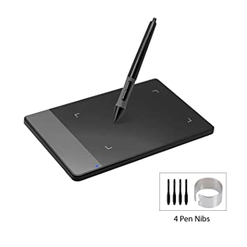 Amazon com: HUION 420 Black 4-by-2 23 Inches OSU! Tablet