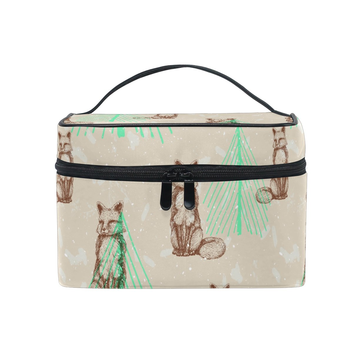 Fox Travel Luggage Storage Bag Duffel Bag Handle Makeup Bag Fashion Lightweight Large Capacity Portable Luggage Bag