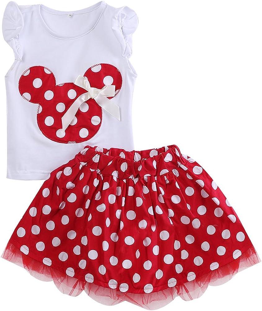 Minnie Mouse - Vestido de fiesta con falda tutú (rojo de 18 a 24 m ...