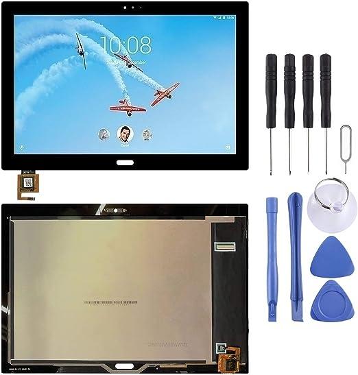 Lenovo Tab 4 Plus TB-X704 TB-X704L用の新しいLCDスクリーンとデジタイザーフルアセンブリ(ブラック) Yiki (色 : Black)