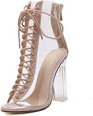 LINYI Zapatos De Mujer Tacones Altos Tacones De Aguja