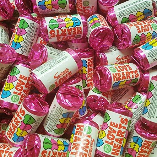 (Swizzels Matlow Love Heart Mini Rolls (pack Of 100))