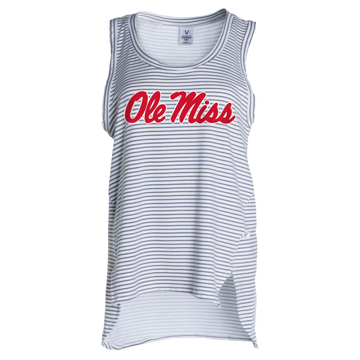Official NCAA Ole Miss Rebels - Women's Stretchy Striped Tank