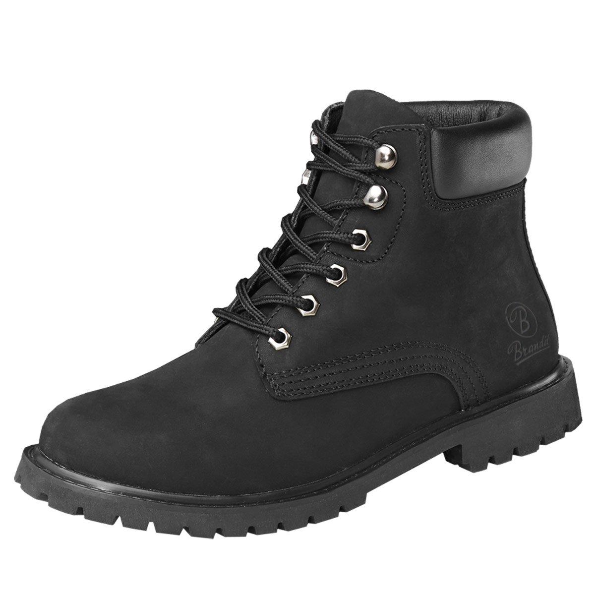 BranditKenyon - zapatos con cordones Hombre 44 EU Negro - negro