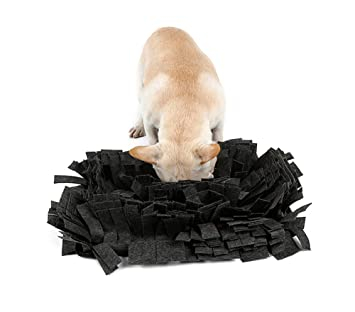 Comederos para mascotas no deslizantes, comedero lento interactivo saludable para comer dieta o bloat,
