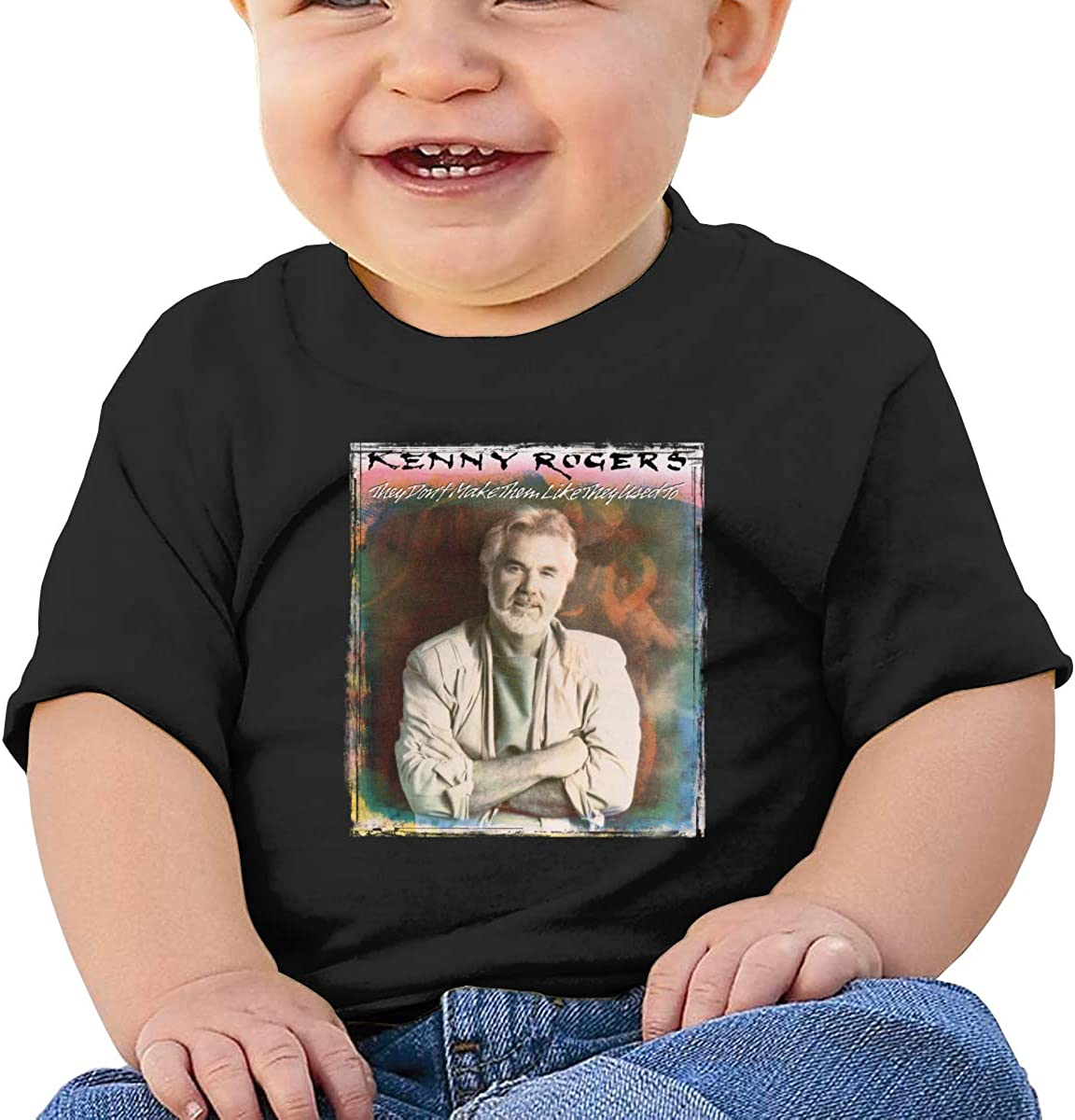 HAOHIYO Baby Kenny Rogers-They Dont Make Them Like They Used to Shirt Toddler Cotton Tee