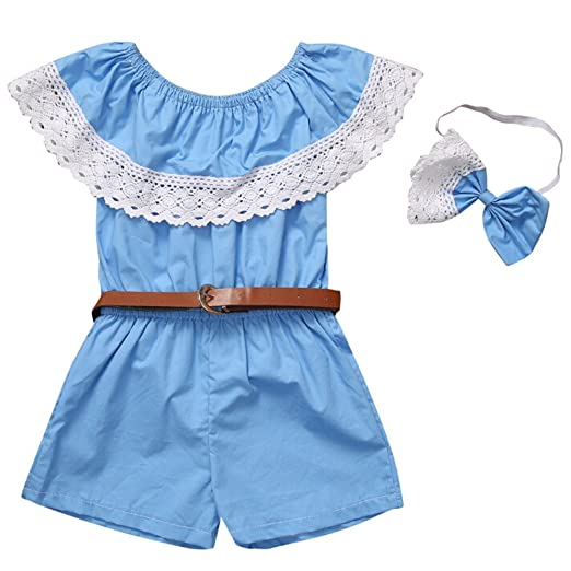 bd75e542748b Amazon.com  Willsa Mommy and Me Family Matching Outfits Off Shoulder ...